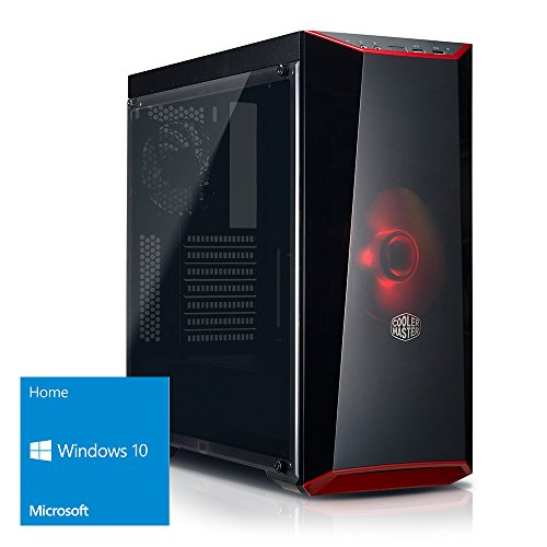 Multimedia PC [184354] AMD FX8300 8x3.3GHz (4.2GHz Turbo), 16GB RAM, 1000GB, nVidia Geforce GTX 1050 2GB, USB3, DVD, LAN, Sound, Windows 10, Computer