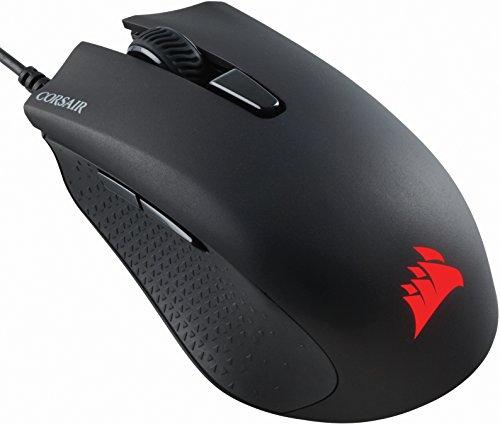 Corsair HARPOON RGB Optisch Gaming Maus (RGB-LED-Hintergrundbeleuchtung, 6000 DPI) schwarz