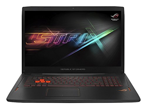 ASUS ROG Strix GL702VM-GC182T 17.3 inch FHD Gaming Laptop (Intel Kabylake i7-7700HQ, 16 GB RAM, 256 GB SSD + 1 TB HDD, Nvidia GTX1060 3 GB, G-Sync, Windows 10, Includes Gaming Mouse)