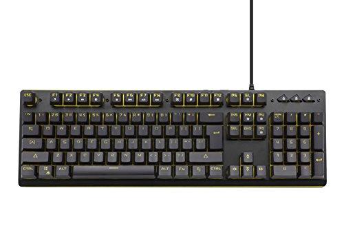 snakebyte Gaming Key:Board Pro - Tastatur - Keyboard in Schwarz für PC mit Hintergrundbelechtung