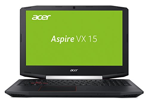 Acer Aspire VX 15 (VX5-591G-5952) 15,6 Zoll (39,62 cm) Full-HD IPS (matt) (Intel Core i5-7300HQ, 8 GB RAM, 128 GB SSD + 1.000 GB HDD, NVIDIA GeForce GTX 1050 (4 GB GDDR5 VRAM), Win 10 Home) schwarz