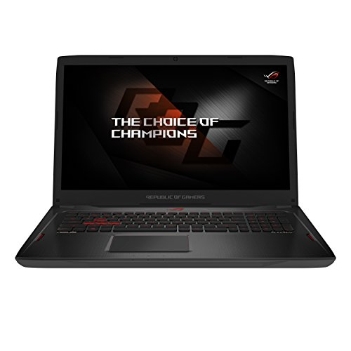 ASUS GL702ZC-GC104T ROG Strix 17.3-inch Gaming Laptop (Black) - (AMD 8-Core/16 Thread Ryzen 7 1700 Processor, FreeSync Display, 16 GB RAM, 256 GB SSD + 1 TB HDD, AMD RX 580 4 GB Graphics, Win 10)