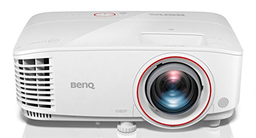 BenQ TH671ST Full HD 3D Kurzdistanz Gaming DLP-Projektor (Full HD, 3000 ANSI Lumen, Kontrast 10.000:1, 1,2x Zoom) weiß