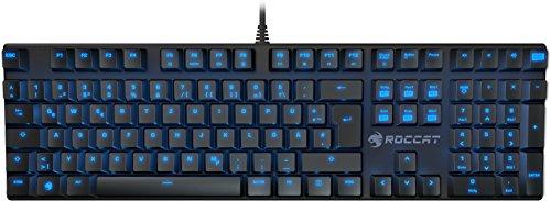 ROCCAT Suora Mechanische Tactile Gaming Tastatur (DE-Layout, Mechanische Tasten, rahmenlos, Indirekte Tastenbeleuchtung) schwarz
