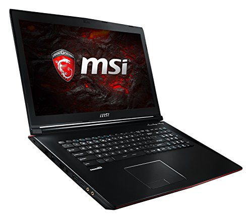 MSI GP72 7RD-047DE Leopard (43,9 cm/17,3 Zoll) Gaming-Notebook (Intel Core i7-7700HQ, 16GB RAM, 1 TB HDD + 256 GB SSD, Nvidia GeForce GTX 1050, Windows 10 Home) schwarz