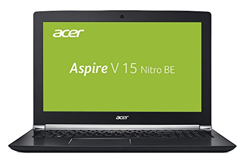 Acer Aspire V 15 Nitro Black Edition VN7-593G-74J4 39,62 cm (15,6 Zoll FHD IPS matt) Notebook (Intel Core i7-7700HQ, 8GB RAM, 512GB SSD, GeForce GTX 1060, HDMI, Win 10) schwarz