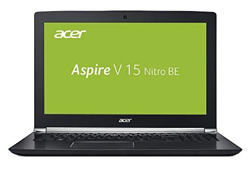 Acer Aspire V 15 Nitro Black Edition V 15 Nitro Black Edition VN7-593G-74FW 39,62 cm (15,6 Zoll FHD IPS matt) Notebook (Intel Core i7-7700HQ, 8GB RAM, 256GB PCIe SSD, 1.000 GB HDD, GeForce GTX 1060, HDMI, Win 10) schwarz