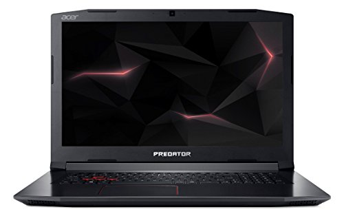 Acer Predator Helios 300 PH317-51-52NJ 43,94 cm (17,3 Zoll Full-HD IPS matt) Gaming-Notebook (Intel Core i5-7300HQ, 8GB RAM, 1.000GB HDD, GeForce GTX 1050Ti (4GB VRAM), Win 10) schwarz