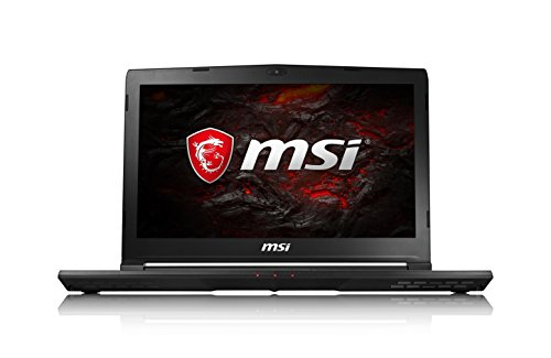 MSI GS43VR 7RE (Phantom Pro) 061UK 14 Inch Gaming Laptop (Black) - (Kabylake Core i7-7700HQ, 16 GB RAM, 256GB SSD, 1TB HDD, GTX 1060, Windows 10)