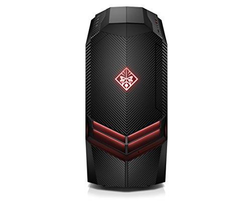 HP Omen 880-073ng Desktop PC (Intel Core i5-7400, 8 GB RAM, 1 TB HDD, 128 GB SSD, NVIDIA GeForce GTX 1060, FreeDOS 2.0) schwarz