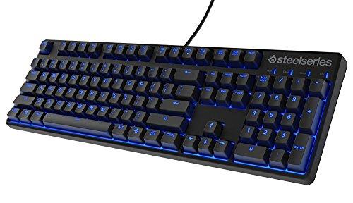 SteelSeries Apex M500 Gaming-Tastatur (Mechanisch, Cherry MX Rot-Schalter, Blaue Hintergrundbeleuchtung) - US Tastaturlayout