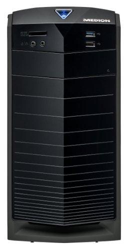 MEDION AKOYA E2049 DR PC System (Intel i3, 3,6GHz, 1TB HDD, 4GB RAM, Intel HD, Windows 8.1, DVD-/CD-Brenner, WLAN, Multikartenleser) schwarz