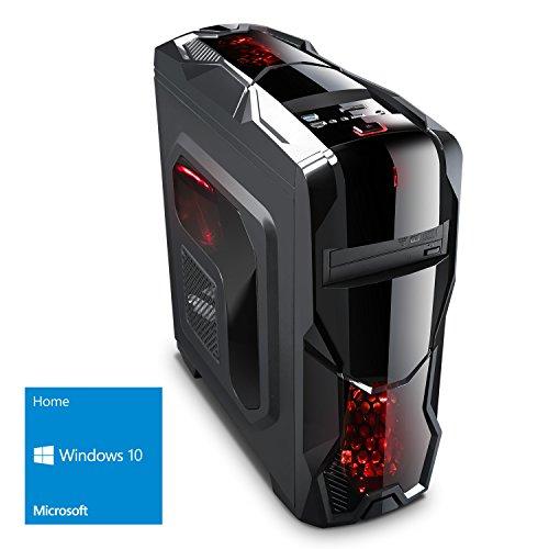 Kiebel Gamer PC 7.0 [184494] Intel Core i5 7500 4x3.4GHz | 16GB DDR4 | 1TB HDD | NVIDIA Geforce GTX 1050Ti 4GB | ASUS | DVD | Sound | LAN | USB3 | Gaming Computer