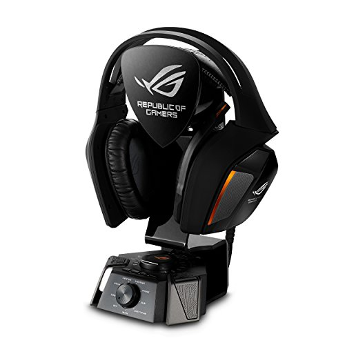 Asus ROG Centurion 7.1 Gaming Headset (USB-Audio Station, digitales Mikrofon, echter 7.1 Surround Sound) schwarz