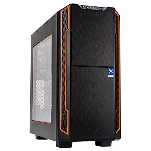 ONE GameStar-PC Ultra Plus · Intel i7-8700K (6 x 4.70GHz) · 8GB NVIDIA GTX1070 · 16GB RAM · 500GB SSD + 2000GB HDD · ASUS ROG Strix Z370-F Gaming · Windows 10 Home · Leiser Gaming-PC · VR Ready