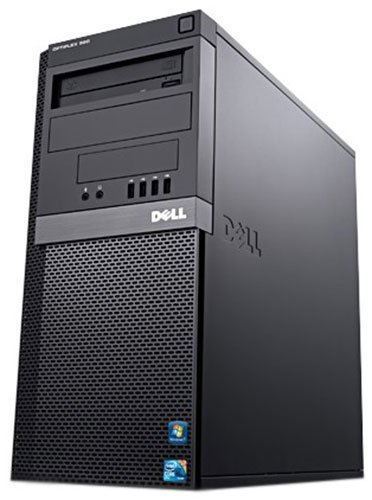 Gaming PC Dell 790 Quad Core i5-2500 8GB 500GB GeForce GTX 750 Windows 10 64Bit Desktop Computer (Certified Refurbished)