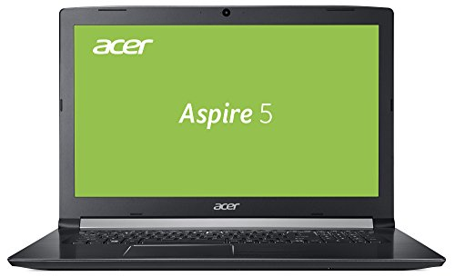 Acer Aspire 5 (A515-51G-54FD) 39,6 cm (15,6 Zoll, Full-HD, IPS, matt) Multimedia Notebook (Intel Core i5-7200U, 8 GB RAM, 128GB SSD +  1 TB HDD, NVIDIA GeForce MX150, Win 10) schwarz