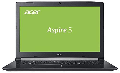 Acer Aspire 5 (A515-51G-54FD) 39,6 cm (15,6 Zoll, Full-HD, IPS, matt) Multimedia Notebook (Intel Core i5-7200U, 8 GB RAM, 128GB SSD +  1 TB HDD, NVIDIA GeForce MX150, Win 10) schwarz