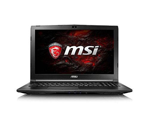 MSI GL62M 7RD-077 Gaming Notebook 15.6 Zoll Full HD i7-7700HQ 16GB 1TB HDD GTX 1050