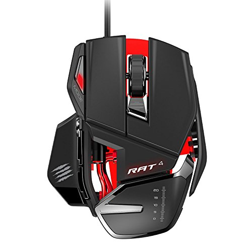 Mad Catz RAT 4 Gaming Maus für PC