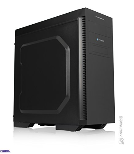 Ankermann-PC Gaming Workstation Desktop, Intel Core i7 7700 4x3,60 KabyLake, GeForce GTX 1060 6GB, 16GB RAM, 240GB SSD, 2TB HDD, Windows 10 Pro, Card Reader, EAN 4260561740395