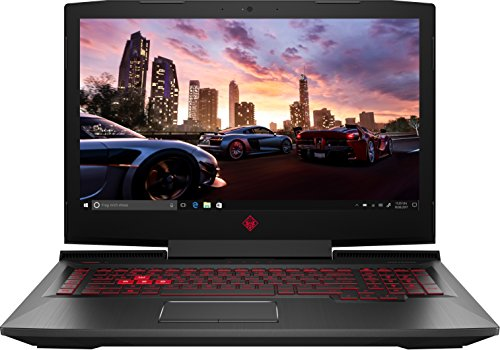 HP Omen 17-an014ng 43,9 cm (17,3 Zoll) Laptop (Intel Core i7-7700HQ, 16 GB RAM, 1 TB HDD, 256 GB SSD, NVIDIA GeForce GTX 1070, Windows 10 Home 64) schwarz