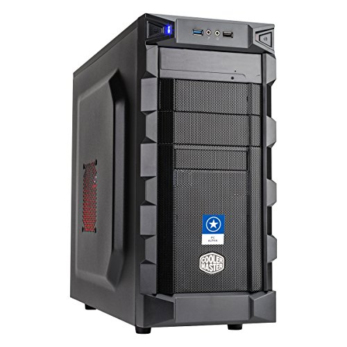 ONE GameStar PC Alpha · AMD Ryzen 3 1300X (4 x 3.70GHz) · 4GB NVIDIA GeForce GTX 1050 Ti · 8GB RAM · 120GB SSD + 1000GB HDD · ASUS PRIME B350-PLUS · Windows 10 Home · Leiser Gaming-PC · VR Ready