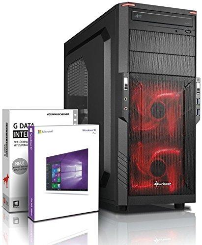 Gaming SSD / Multimedia COMPUTER mit 3 Jahren Garantie! | Quad-Core! AMD A10-8750 4 x 4000 MHz | 16GB DDR3 | 128GB SSD | 1000GB S-ATA III HDD | AMD Radeon R7000 4096 MB DVI/VGA mit DirectX11 Technology | USB3.0 | 22x DVD±R/RW | 6 USB-Anschlüsse | Windows10 Professional 64 #5549