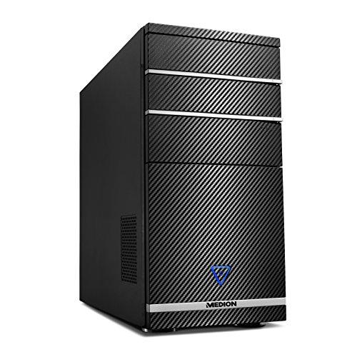 Medion M11Desktop-PC (Intel Athlon _ 644.0GHz, NVIDIA GeForce GTX7502GB DDR5, Festplatte 1TB, 8GB RAM, ohne SSD) schwarz