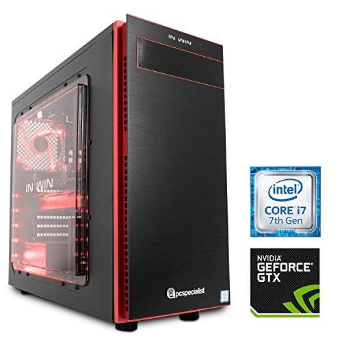 PC Specialist Vulcan Nemesis Extreme Intel Core i7-7700K CPU GTX 1080 Gaming PC