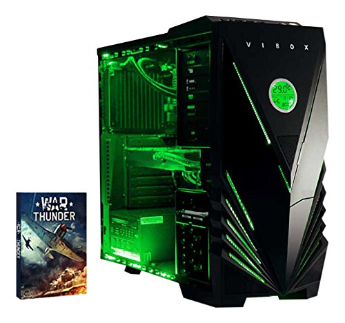 Vibox VBX-PC-00228 Sniper 10 Gaming Desktop-PC (Intel Core i7 4790, 16GB RAM, 1120GB HDD, NVIDIA Geforce GTX 970, kein Betriebssystem) grün
