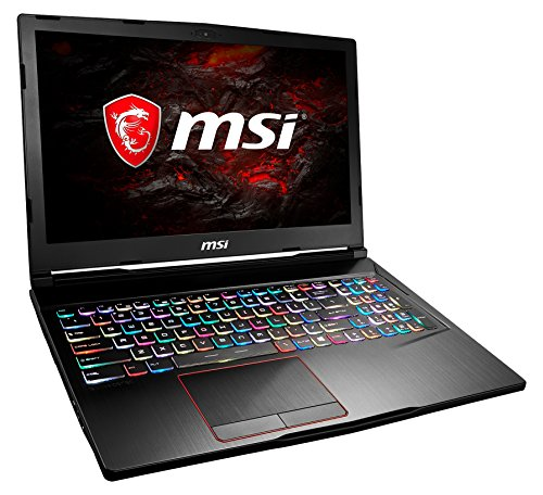MSI GE63VR 7RF-040DE Raider (39,6 cm/15,6 Zoll/120Hz) Gaming-Notebook (Intel Core i7-7700HQ, 16GB RAM, 256 GB SSD + 1 TB HDD, Nvidia GeForce GTX 1070, Windows 10 Home) schwarz GE63