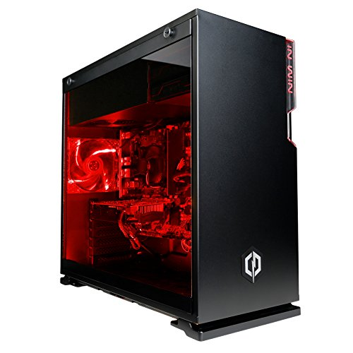 Cyberpower Warrior i7-1070 Gaming PC - Intel Core i7 7700 4.2GHz Turbo Quad Core CPU, Nvidia GTX 1070 8GB Graphics Card, 16GB 2133MHz DDR4 RAM, 240GB SSD, 2TB SATA III HDD, 600W 80 Plus Rated PSU, PCI-E Wifi, Windows 10, Mbox 5 Lite with red lights