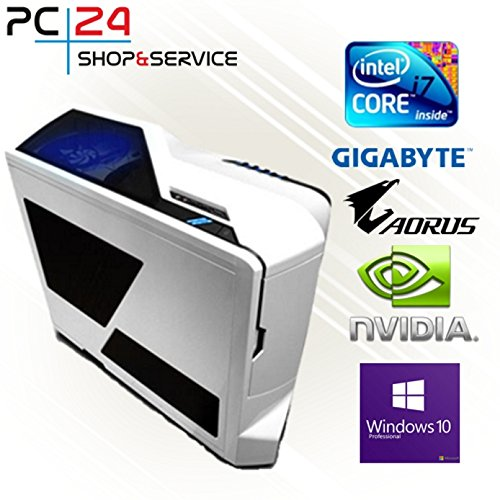 PC24 NZXT GAMER PC | INTEL i7-8700K @6x4,20GHz | 500GB Samsung M.2 960 | nVidia GF GTX 1080 mit 8GB RAM | 16GB DDR4 PC2133 RAM G.Skill | GA Z370 AORUS Ultra Gaming | Windows 10 Pro | i7 Gaming PC
