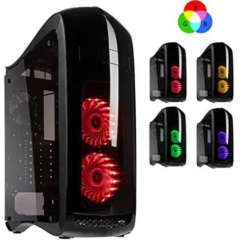 Freshtech Intel Core I7 7700 2tb + SSD 16gb 2133Mhz GTX 1080 8gb Punisher Gaming PC Gigabyte H110M-S2H Motherboard 16gb DDR4 2133mhz Performance Ram Nvidia Geforce GTX 1080 8gb VR Ready EVGA 600w Quiet 80 Plus Bronze Certified Semi Modular Power Supply 120gb SSD Solid State Drive with Superior Read + Write Speeds + 2tb HDD