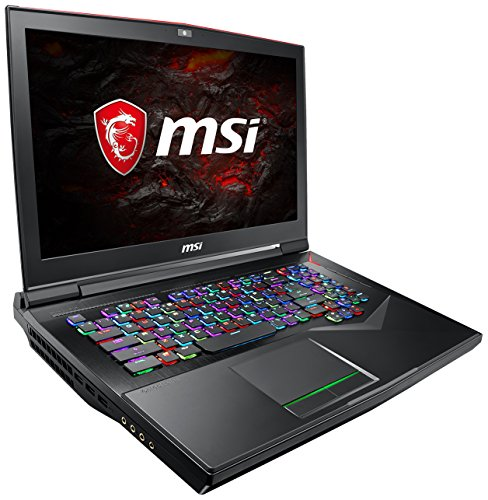 MSI GT75VR 7RE-016DE Titan (43,9 cm/17,3 Zoll/120Hz) Gaming-Notebook (Intel Core i7-7820HK, 16GB RAM, 256 GB PCIe SSD +  1 TB HDD, Nvidia GeForce GTX 1070, Windows 10 Home) schwarz GT75