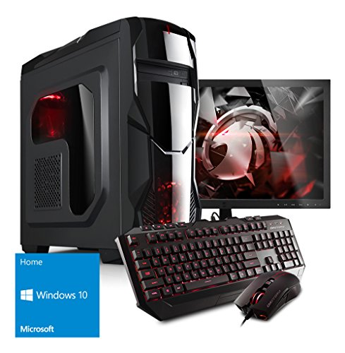 Kiebel Komplett Set Gamer-PC + 60cm (23.6