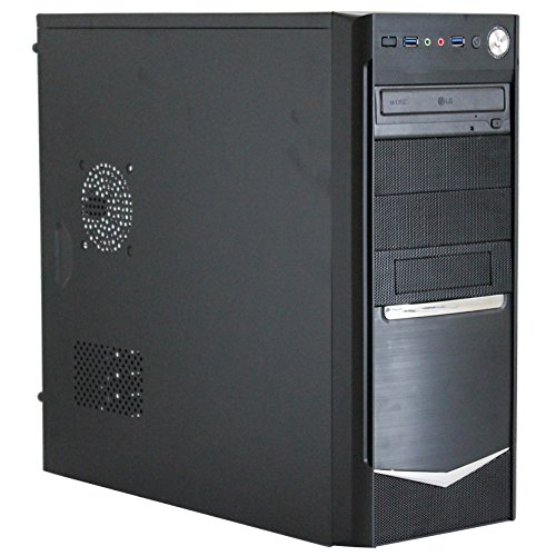 SNOGARD OFFICE PC | AMD A6-5400K | 8GB DDR3 | 1TB HD | Radeon HD7450D | W10Pro | 7.1 Sound | Multimedia und Internet Computer