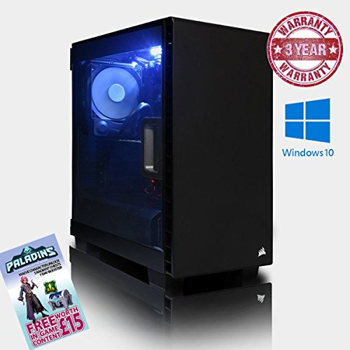 ADMI GTX 1080 GAMING PC: High-End VR Ready Gaming Desktop Computer: Intel Core i7 6700K Skylake Quad Core 4.5GHz OverClocked CPU with Corsair H45 Liquid CPU Cooler / NVIDIA GeForce GTX 1080 8GB GDDR5X 4K VR Ready Graphics Card / GA-Z170-Gaming K3 Motherboard / 16GB 3000MHz DDR4 RAM / 2TB Hard Drive / 650W PSU Bronze Rated / HD Audio / USB 3.0 / HDMI/4K Ultra HD Support / VR / Oculus Support / Corsair Carbide Series Clear 400C Compact Mid-Tower Gaming Case / Pre-Installed with Windows 10