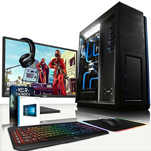 VIBOX Amalthea HyperFreeze Package 30 - Ultimate Gaming PC, Windows 10 Desktop Computer with ASUS 28