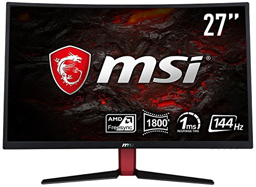 MSI Optix G27C2-305E Curved Gaming LED Monitor, 68,58 cm (27 Zoll) 144Hz, 1ms, schwarz G27C2