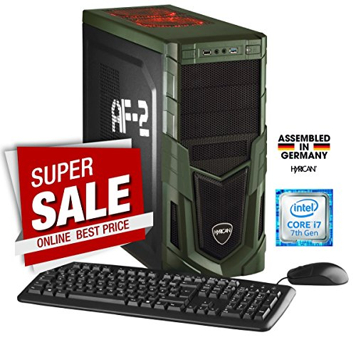 Hyrican Military Gaming 5553 PC i7-7700 16GB/1TB 120GB SSD GTX 1070 Windows 10