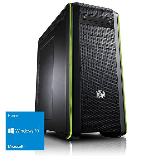 Kiebel Gamer PC Earthquake Ultimate [184479] Intel i9 7900X (10x3.3GHz) | 32GB DDR4-2666 | 500GB M.2 SSD + 2TB HDD | NVIDIA GeForce GTX 1070, 8GB | ASUS X299 | USB3 | DVD | Sound | Win10 | Gaming Computer