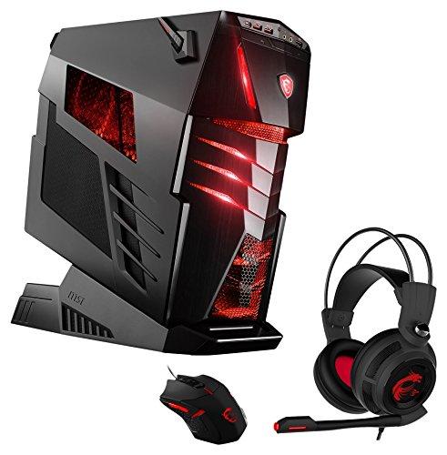 MSI Aegis Ti3 VR7RF-043DE Gaming-PC inkl. MSI Gaming Pack (Intel Core i7-7700K, MSI Nvidia GeForce GTX1080Ti Gaming 11GB, 2x512GB PCIe SSD, 4x16 GB DDR4, Windows 10 Home) schwarz, High End, Wassergekühlt