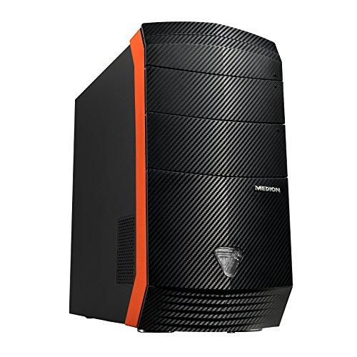 Medion Erazer X5328 F/B618 Desktop-PC (Intel Core i5-4460, 3,2GHz, 8GB RAM, 128GB SSD, 1TB HDD, NVIDIA GeForce GTX 960 2 GB GDDR5, kein Betriebssystem)