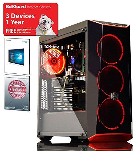 ADMI GAMING PC: Intel Core I5 8500 4.1Ghz Six Core CPU - Alpine 11 Plus Cooler / GeForce GTX 1060 6GB GDDR5 Graphics Card / 8GB 2400MHz DDR4 RAM / Seagate 2TB HDD / 500W PSU / Cooler Master MasterBox Lite 5 Case / Windows 10