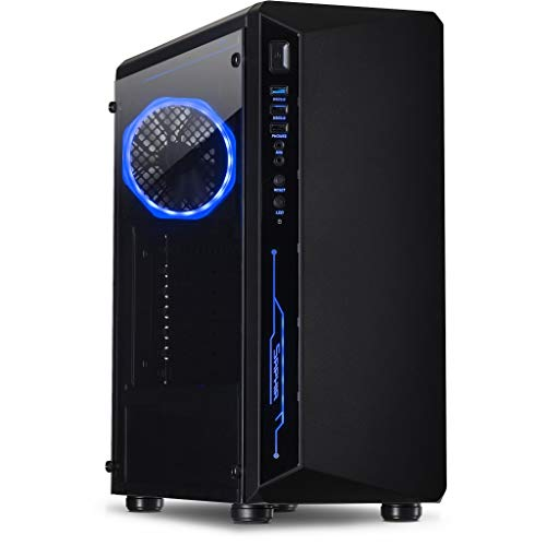 Memory PC Gaming-PC i7 9700K 8x3,6 GHz, 32 GB DDR4, 480 GB SSD+2000 GB HDD, NVIDIA GeForce GTX 1060 6GB
