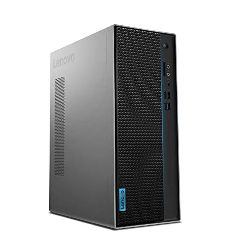 Lenovo IdeaCentre T540 Gaming Desktop-PC (Intel Core i5-9400F, 16GB RAM, 1 TB HDD + 256 GB SSD, Nvidia GeForce GTX 1660, Windows 10 Home) grau inkl. schwarzer Tastatur + Maus