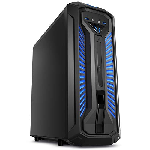 MEDION ERAZER X87029 Gaming Desktop PC (Intel Core i7-9700, 16GB DDR4 RAM, 2TB HDD, 512GB PCIe SSD, NVIDIA GeForce GTX 1660Ti 6GB GDDR6 VRAM, DVD, Hot-Swap, WLAN, Win 10 Home)