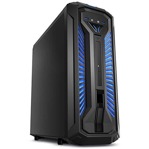 MEDION ERAZER X87029 Gaming Desktop PC (Intel Core i7-9700, 16GB DDR4 RAM, 2TB HDD, 512GB PCIe SSD, NVIDIA GeForce GTX 1660Ti 6GB GDDR6 VRAM, DVD, Hot-Swap, WLAN, Win 10 Home)